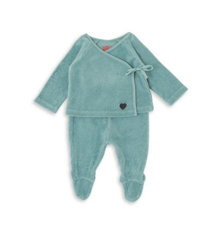 Bonton Baby New Born Set Bleu Nil
