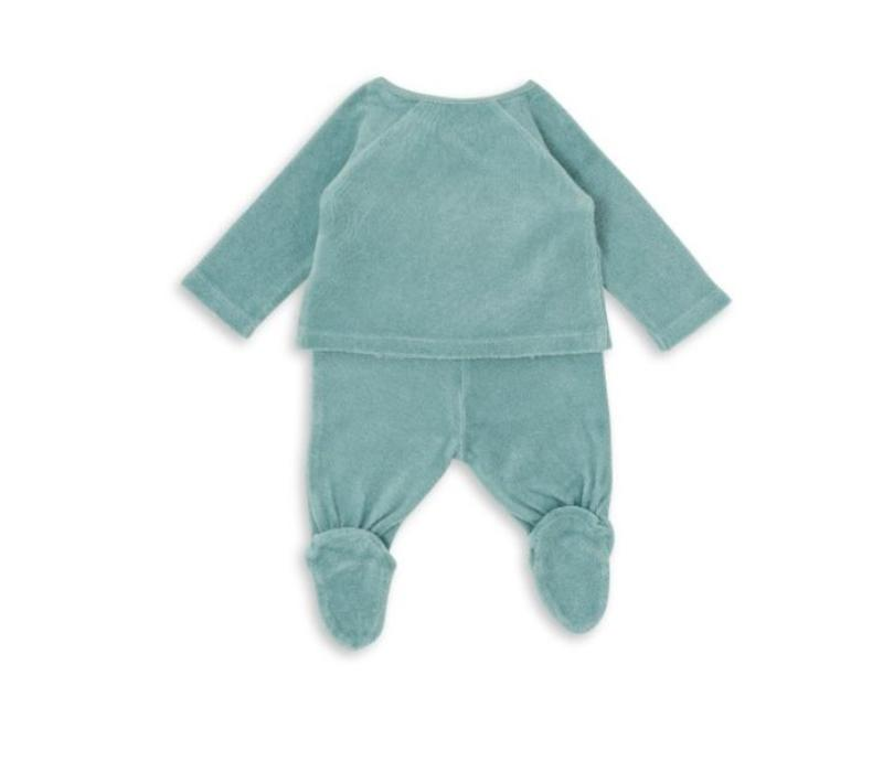 Baby New Born Set Bleu Nil