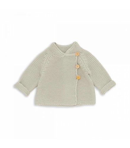 Bonton Baby Cardigan Gris Brume