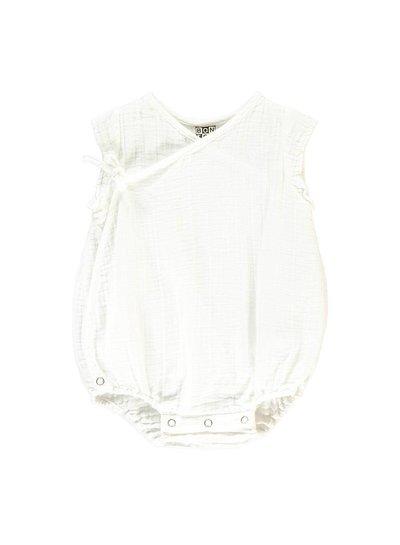 Bonton Baby Overall Blanc Laitage