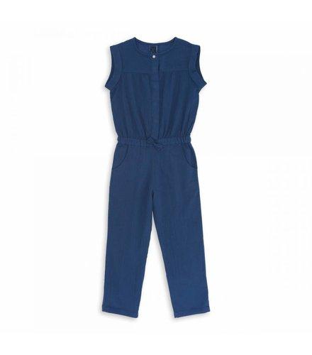 Bonton Girl Overall Bleu Infini