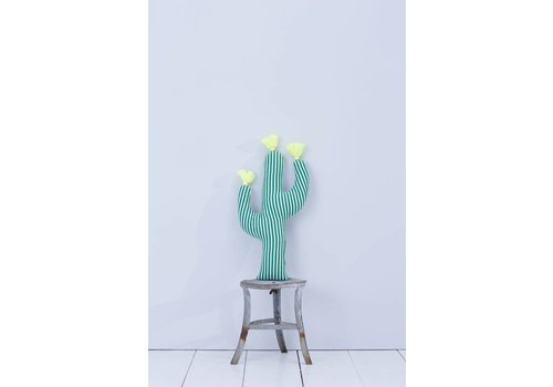 Meri Meri Knitted cactus cushion