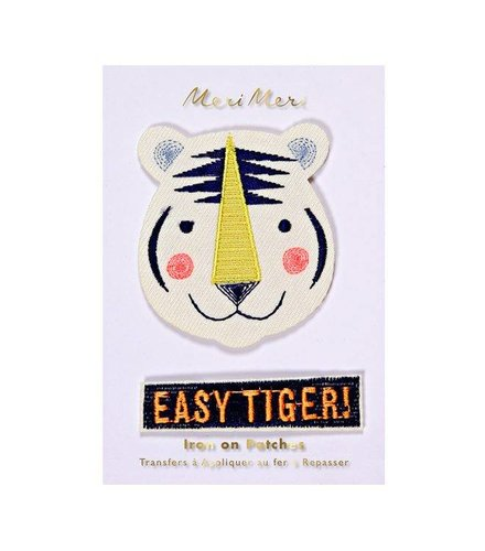 Meri Meri Easy tiger patches