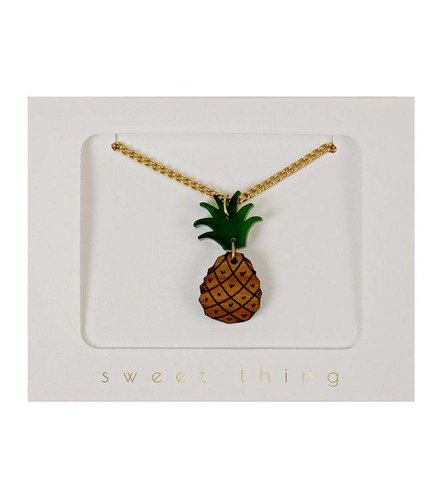 Meri Meri Pineapple necklace