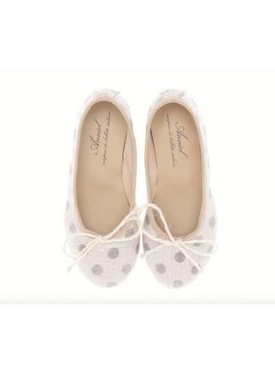 Anniel Shoes Anniel Kids Ballerina glitter dots