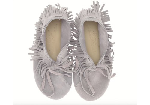 Anniel Shoes Anniel Kids Indianina Stone Grey Glitter