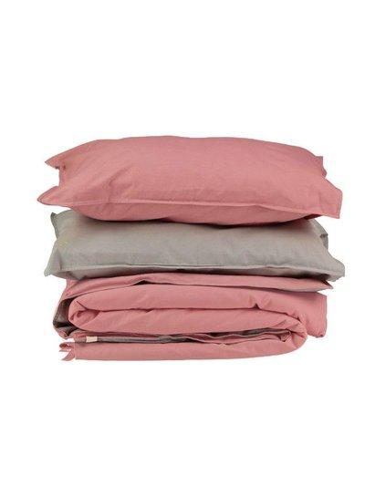 Camomile London Solid Colour Pillow Case - Rose