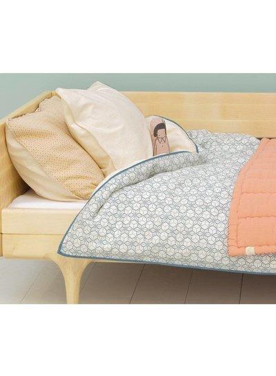 Camomile London Solid Colour Pillow Case - Parchment