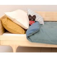Solid Colour Pillow Case - Parchment