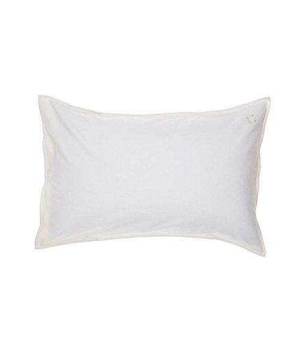 Camomile London Solid Colour Pillow Case - Ivory