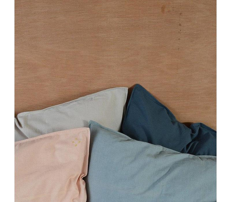 Solid Colour Pillow Case - Ink