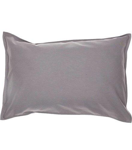 Camomile London Solid Colour Kussensloop - Grey