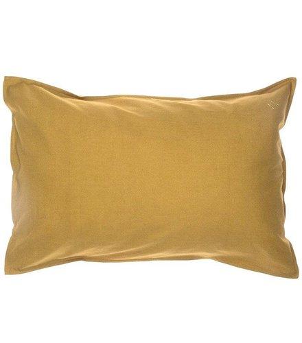 Camomile London Solid Colour Kussensloop - Golden