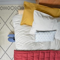 Solid Colour Pillow Case - Golden