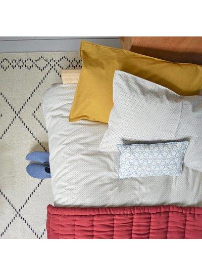 Camomile London Solid Colour Pillow Case - Golden