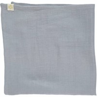 Small Soft Cotton Gauze Towels (3 In A Bag) - 3 In A Bag Chambray/Blue Grey/Aqua