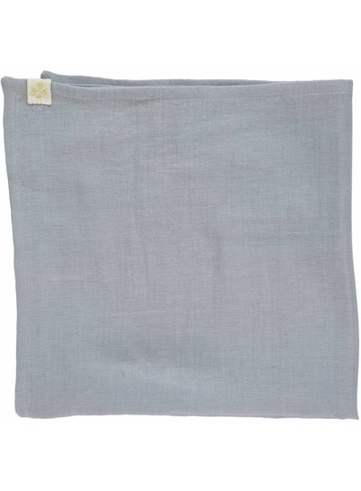 Camomile London Small Soft Cotton Gauze Towels (3 In A Bag) - 3 In A Bag Chambray/Blue Grey/Aqua