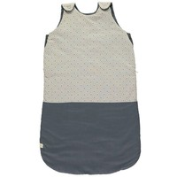 Sleeping Bag - Keiko Soft Grey/French Blue