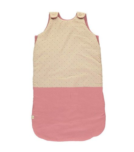 Camomile London Sleeping Bag - Keiko Peach Puff/ Rose
