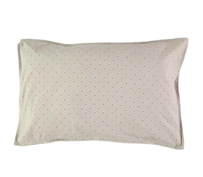 Pillow Case - Keiko Soft Grey/French Blue