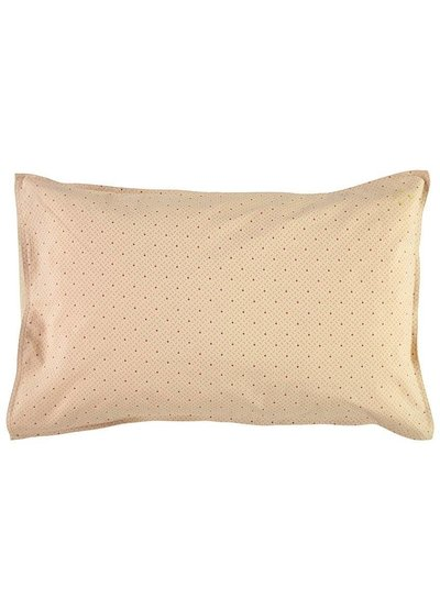 Camomile London Pillow Case - Keiko Peach Puff/Rose