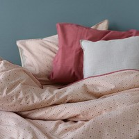 Kussensloop - Keiko Peach Puff/Rose