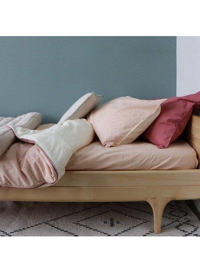 Camomile London Pillow Case - Keiko Peach Puff/Rose