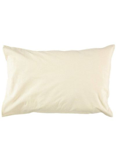 Camomile London Pillow Case - Dash Star Rose/Ivory