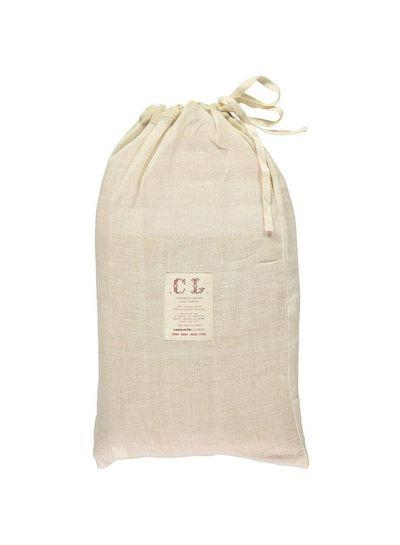 Camomile London Midi House Cushion In Bag - Check/Stone