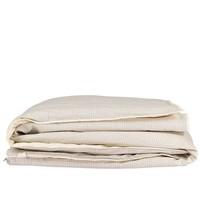 Dekbedovertrek - Small Double Check Ivory/Grey
