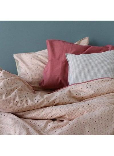 Camomile London Duvet Cover - Keiko Peach Puff/Rose