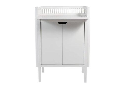 Sebra Sebra changing unit, white 79,5x74x90cm