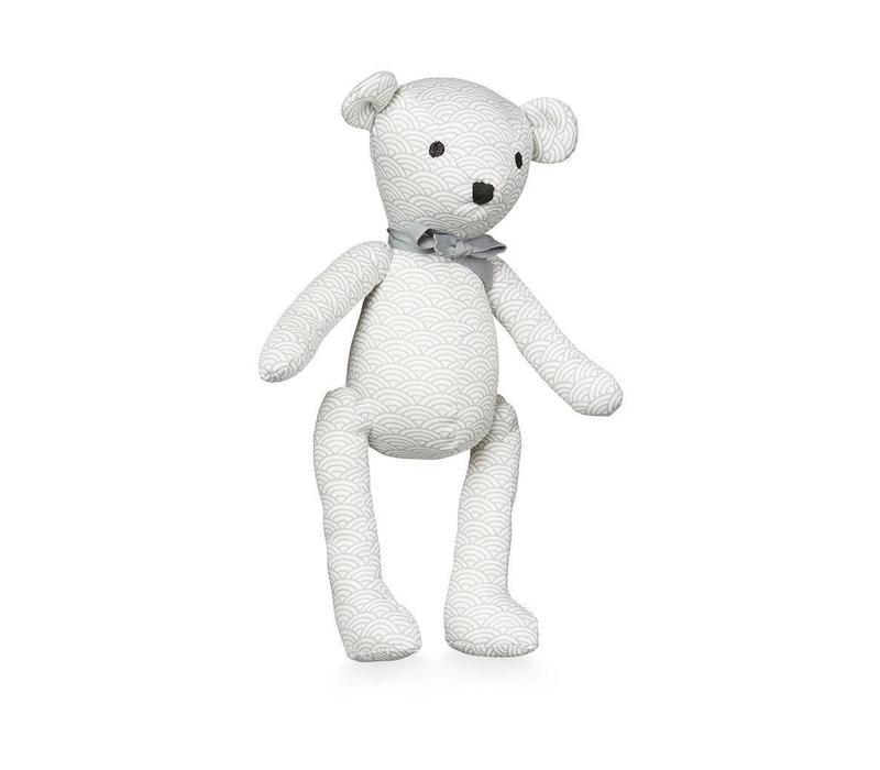 Teddy Bear, grey wave