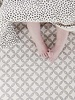 Mies & Co Baby soft teddy blanket cozy dots offwhite