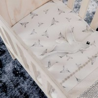 Toddler bed sheet little dreams offwhite