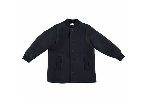 Stella McCartney Kids Paxton Coat Neck Rib