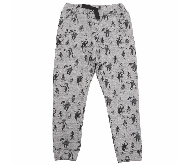 Trousers, gris chine ao animo