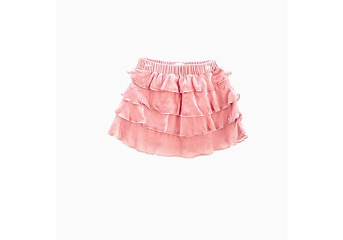 Long Live the Queen velours ruffle skirt 67