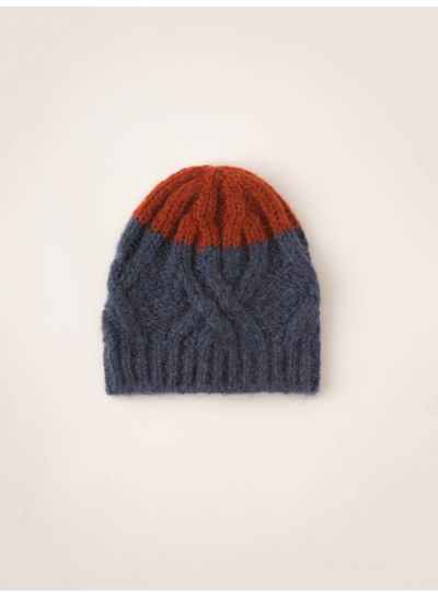 BOBO CHOSES Beanie Big Stripes Nautical Blue