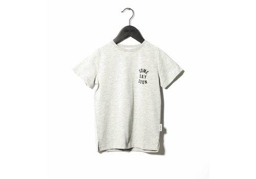 Someday Soon Revolution T-shirt Grey Mela