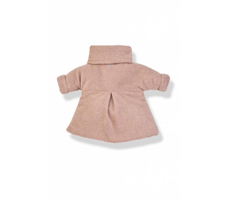 Elena Coat Rose