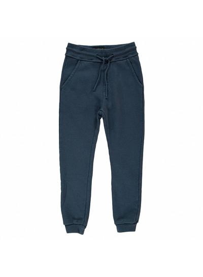Finger in the nose Sprint night blue-unisex knitted jogging pants
