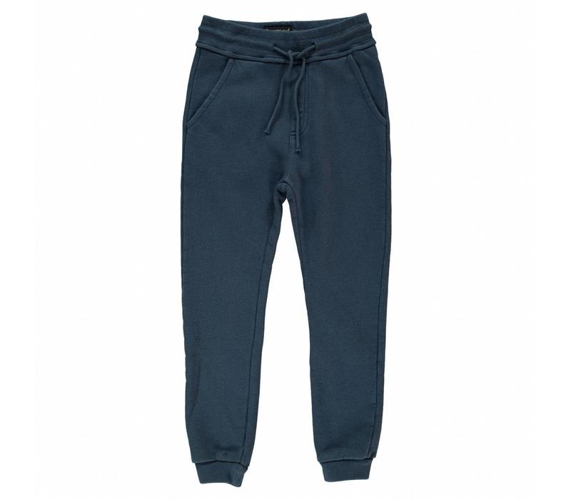 Sprint night blue-unisex knitted jogging pants