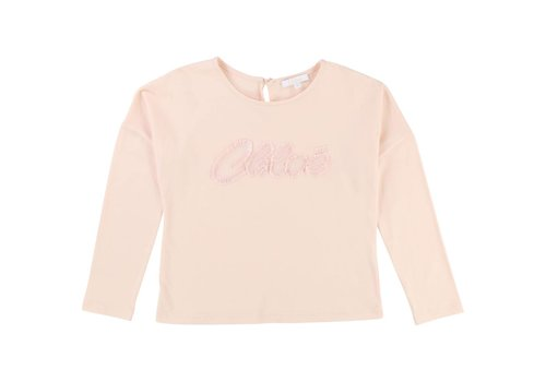 Chloé T-Shirt long sleeves, pink