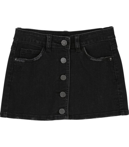 Zadig et Voltaire Kids Skirt Kingdom of Rock,denim black lave