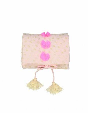 Louise Misha Changing Mat Amalu Blush Glitter