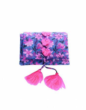 Louise Misha Changing Mat Amalu Blue Flower