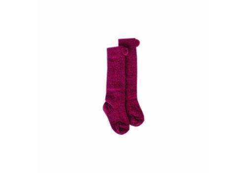 Louise Misha Socks Sweety Burgundy