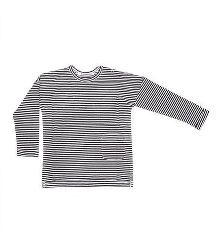 MINGO Long Sleeve B/W Stripes