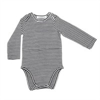 Bodysuit B/W Stripes